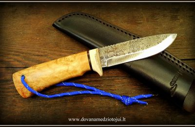 """Medžioklinis peilis """"Ernis-45""""  130 €"""