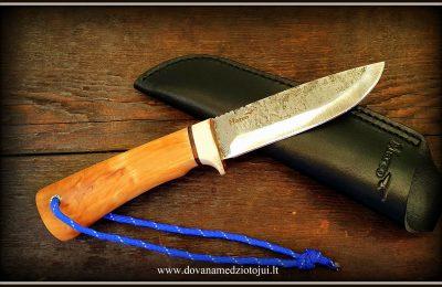 """Medžioklinis peilis """"Ernis-48""""  130 €"""