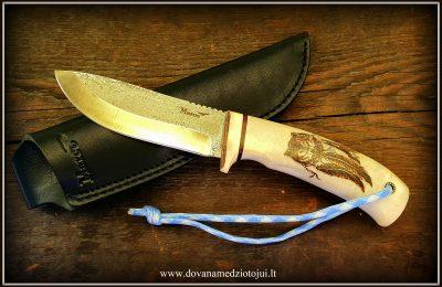 """Medžioklinis peilis """"Ernis-60""""  180 €"""
