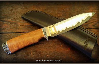 """Medžioklinis peilis Nr 770 """"Tauras""""  300 €"""