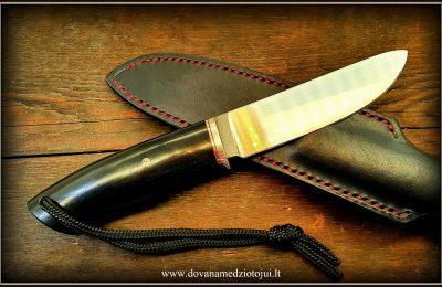Medžioklinis peilis meistras Y. Lukyanchuk (UKR)  250 €